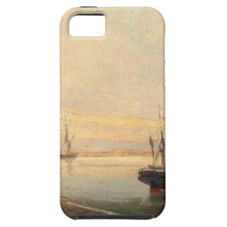 The port of Volos by Konstantinos Volanakis iPhone 5 Cases