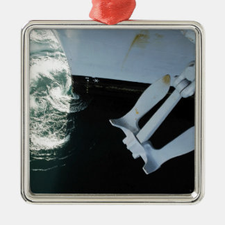 The port side Mark II Stockless Anchor Christmas Ornament