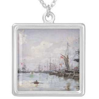 The Port Silver Plated Necklace