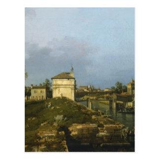 The Porta Portello, Padua By Canaletto Postcard