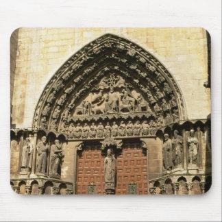 The Portada del Sarmental, south transept Mouse Pad