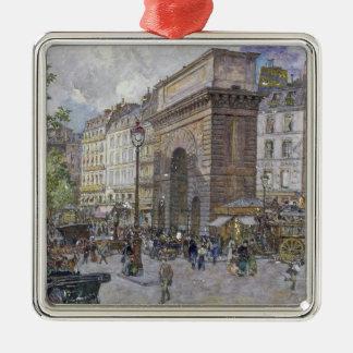 The Porte Saint-Martin, 1898 Christmas Ornament