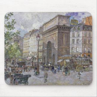 The Porte Saint-Martin, 1898 Mouse Mat