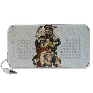 The Porter or, The Imposing Burden, c.1820 Notebook Speakers