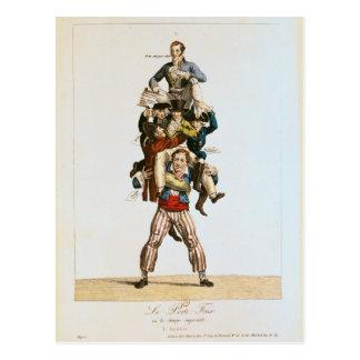 The Porter or The Imposing Burden c 1820 Postcards