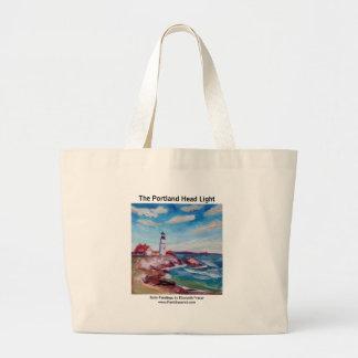 The Portland Head Lighthouse • Maine • TOTE Jumbo Tote Bag
