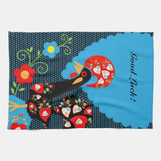 The Portuguese Rooster Tea Towel