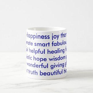 The Positive Cup Basic White Mug