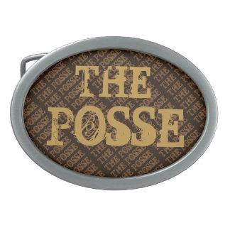 THE POSSE Belt Buckle