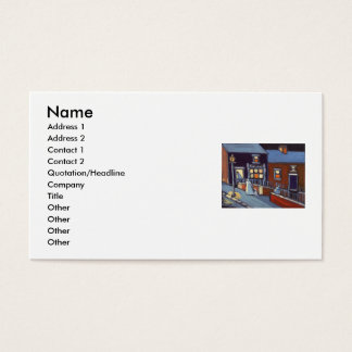 THE POST OFFICE, Name, Address 1, Address 2, Co... Business Card