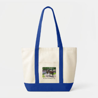 The Post Parade at Saratoga Canvas Bags
