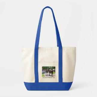 The Post Parade at Saratoga Impulse Tote Bag