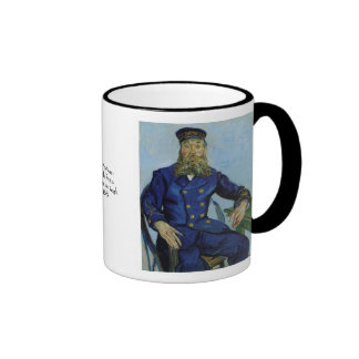 The Postman Joseph Roulin by Vincent van Gogh Coffee Mugs