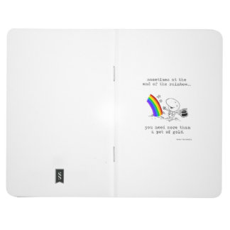 The Pot at the End of the Rainbow Pocket Journal