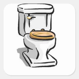 The pot square sticker