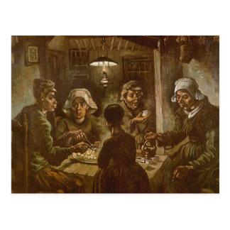 The Potato Eaters, van Gogh, Vintage Impressionism Postcards