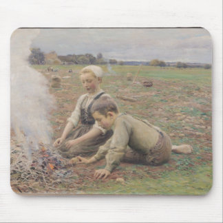 The Potato Gatherers, 1898 Mouse Mat