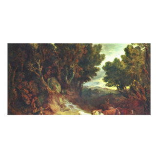 The Potions By Gainsborough Thomas (Best Quality) Picture Card
