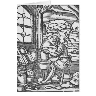 The potter, 1574 card