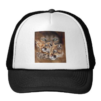 The Pouncing Cougars Mesh Hats