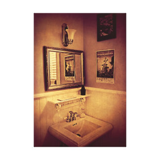 The Powder Room - poster Stretched Canvas Prints
