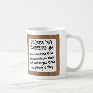 The Power of Positive Thinking Basic White Mug