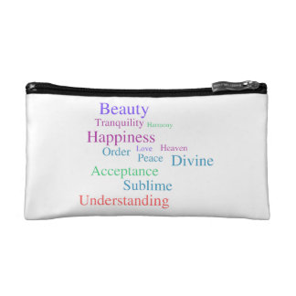 The Power of Positive Thinking Cosmetic Bags