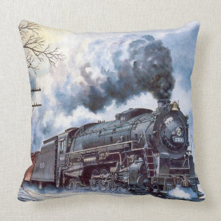 The Power of Steam Throw Pillow