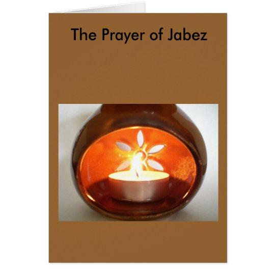 The Prayer of Jabez Card
