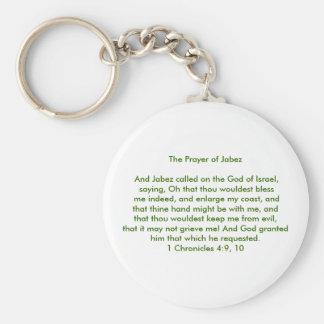 The Prayer of Jabez Key Ring