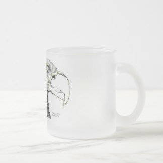 The Preditor Frosted Glass Mug