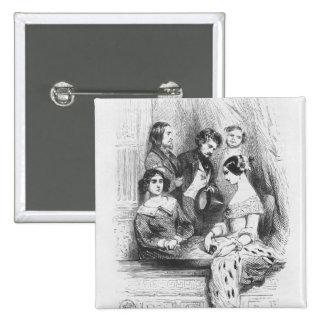 The Premiers Gentilhommes theatre box 15 Cm Square Badge