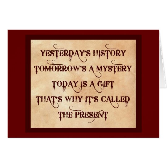 The Present Card