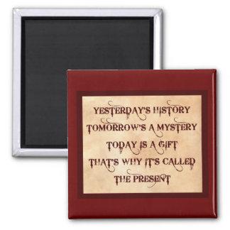 The Present Fridge Magnets