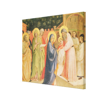 The Presentation in the Temple Canvas Print