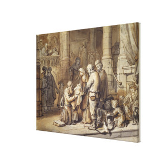The Presentation of Christ in the Temple Canvas Print