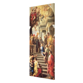 The Presentation of the Virgin at the Temple (oil Canvas Print