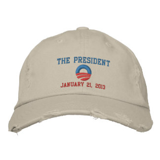 The President 1/21/13 Inauguration Day Embroidered Baseball Cap