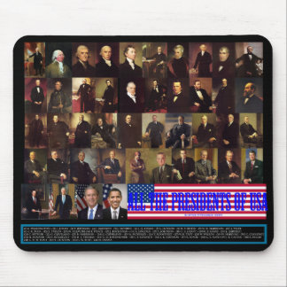 The Presidents Mouse Mat