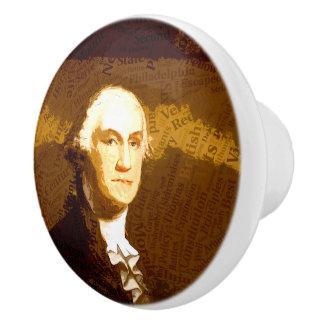 The Presidents - Washington Ceramic Knob