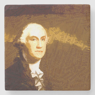 The Presidents - Washington Stone Coaster