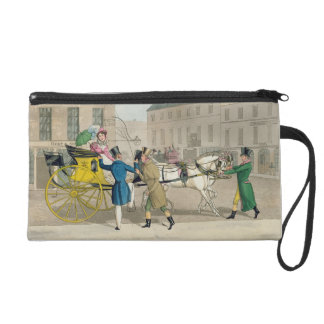 The Pressing Invitation, from 'Fashionable Bores, Wristlet Clutch