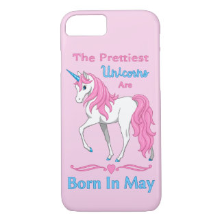 The Prettiest Unicorns Are Born In May iPhone 8/7 Case