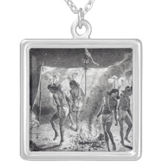 The 'Pretty House' and Dance Silver Plated Necklace