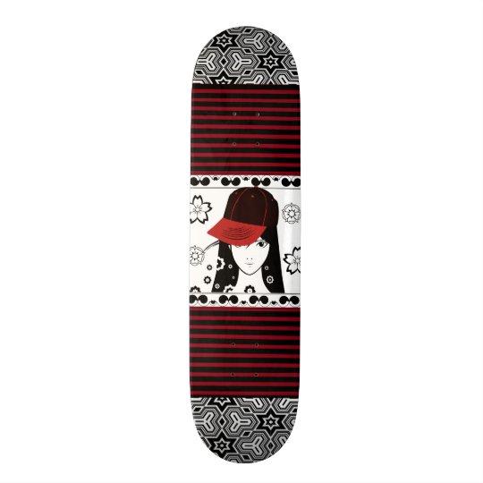 The Pretty Tomboy 20.6 Cm Skateboard Deck