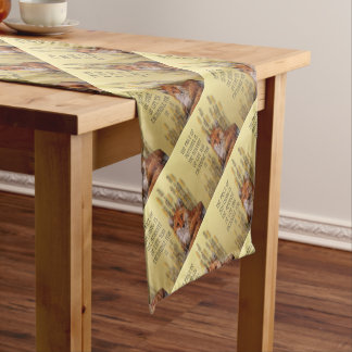 The Price Of Anything Is The Amount Of Life Yoy Ex Short Table Runner