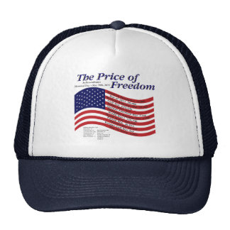 The Price Of Freedom Hat