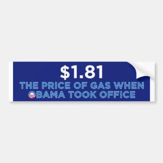 The Price of Gas Bumper Sticker