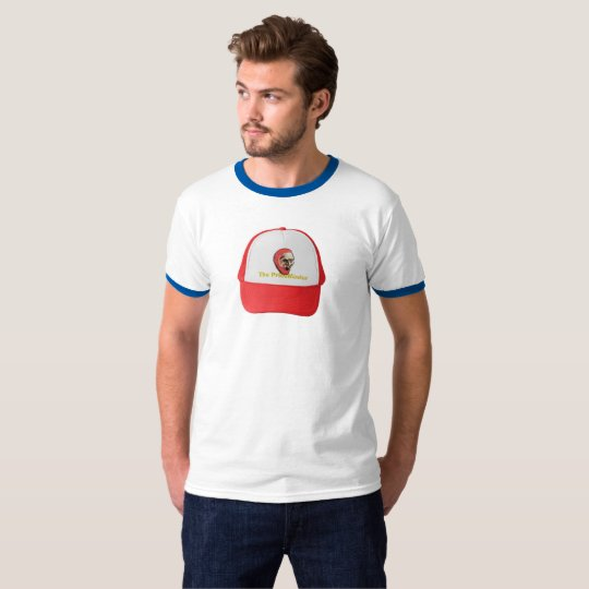 The PriceMaster Hat on T-Shirt