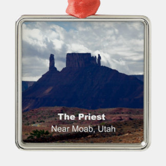 The Priest: Moab, Utah Christmas Ornament
